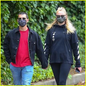 Joe Jonas & Sophie Turner Get Some Fresh Air Together Amid Quarantine in LA