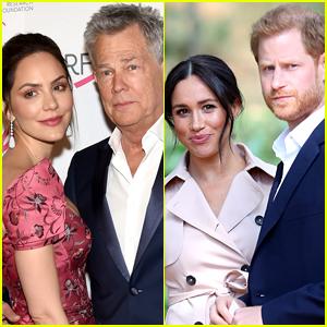 Katharine McPhee Says Husband David Foster & Prince Harry Are 'Like Father & Son'