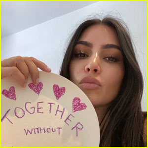 Kim Kardashian Participates in Social Media Challenge for Charity - See the Pics!