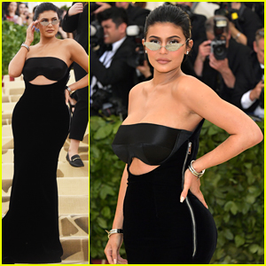 Kylie Jenner's Met Gala 2018 Look Ripped on Her Way Out the Door