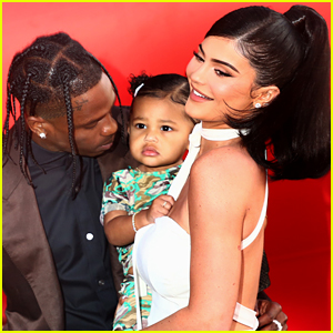 This Video of Kylie Jenner & Travis Scott's Daughter Stormi Doing the Candy Challenge Is Going Viral!