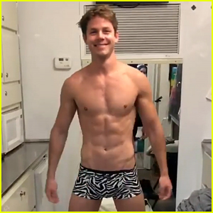 Station 19's Lachlan Buchanan Strips Down in New Teaser for 'Dynasty' Finale