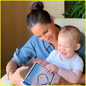 Meghan Markle Reads to Archie on His First Birthday in Adorable New Video!