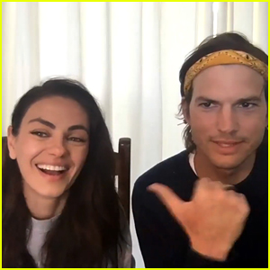 Ashton Kutcher & Mila Kunis Talk About Home Schooling Their Kids, Plus Enlisting Friends to Teach