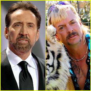 Nicolas Cage to Star As Tiger King's Joe Exotic!