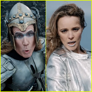 Watch Rachel McAdams & Will Ferrell Play Eurovision Contestants in the 'Volcano Man' Music Video!