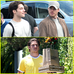 Richard Madden & Teen Wolf's Froy Gutierrez Quarantining at Emilia Clarke's Venice Home