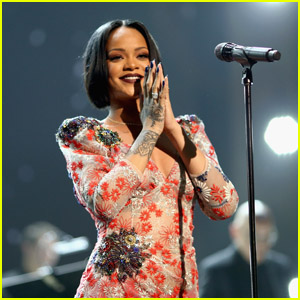 Rihanna Celebrates 15 Years in the Music Industry: 'I Love You Navy'!