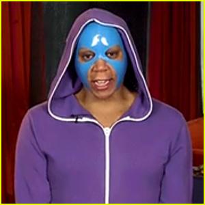 RuPaul Wears a Beauty Mask & Hoodie for 'Drag Race' Reunion!