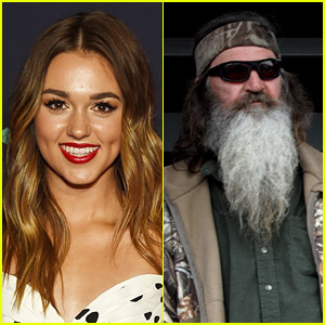 Duck Dynasty's Sadie Robertson Reacts After Grandfather Phil Discovers He Has a 45-Year-Old Daughter From an Affair