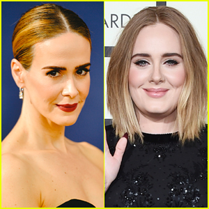 Sarah Paulson Reacts to All the Fans Saying She Looks Exactly Like Adele!