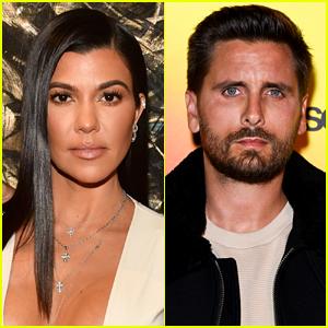 Kourtney Kardashian Reveals Positive Message Amid Scott Disick's Rehab News