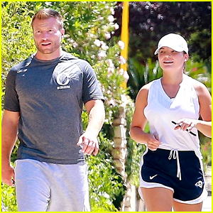 L.A. Rams Coach Sean McVay Spotted on a Hike with Fiancee Veronika Khomyn!