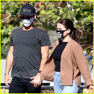 Sophia Bush Runs Errands With Grant Hughes