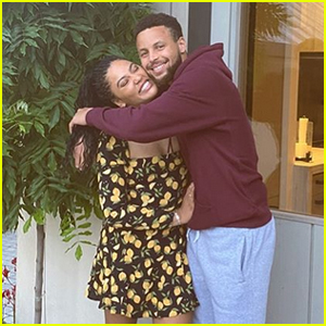 Steph & Ayesha Curry Enjoy Date Night Out on Their Patio!