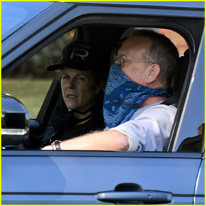 Tom Hanks & Wife Rita Wilson Take a Ride Around the Neighborhood Over Memorial Day Weekend