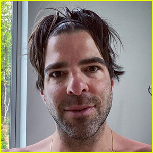Zachary Quinto Celebrates Four Years Sober With a Shirtless Selfie