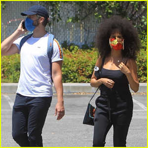 Zazie Beetz & Boyfriend David Rysdahl Join the Black Lives Matter Protest in L.A.