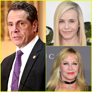 Governor Andrew Cuomo Has 2 Celebrities Thirsting After Him in His Instagram Comments!