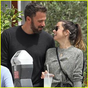 Ben Affleck & Ana de Armas Look So in Love After Lunch Date!