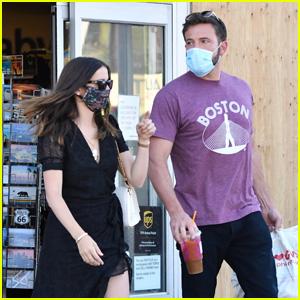 Ben Affleck & Girlfriend Ana de Armas Run Errands Together in LA