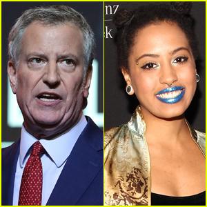 Mayor Bill de Blasio's Daughter Chiara Arrested at Protest in NYC