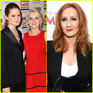 'Harry Potter's Bonnie Wright & Evanna Lynch Release More Reactions to JK Rowling's Anti-Trans Tweets