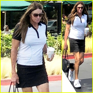 Caitlyn Jenner Grabs Coffee After Golfing at Her Private Club
