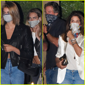 Cara Delevingne Grabs Dinner with Kaia Gerber & Family in Malibu!