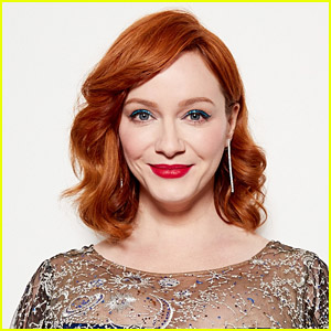 Christina Hendricks Colors Her Hair at Home with This $7 Product!