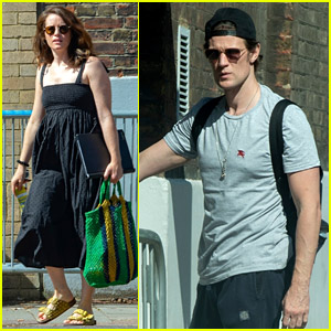 Claire Foy & Matt Smith Are Back at Work on Their Play in London!