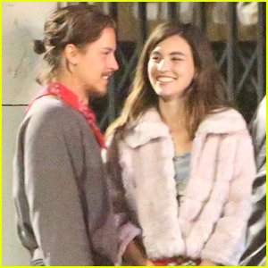 Cole Sprouse Has Dinner Out With Sisters Margaret & Rainey Qualley in LA