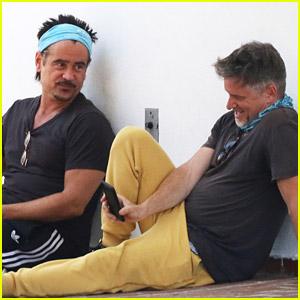 'Tigerland' Stars Colin Farrell & Shea Whigham Meet Up After Joel Schumacher's Death