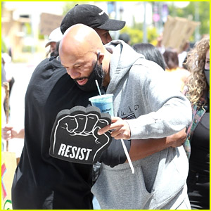 Common Runs Into Chris Paul at the L.A. Protests for Black Lives Matter