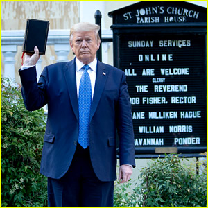 Donald Trump Slammed By Bishop for Using St. John's Church as a 'Prop' for Photo Opp