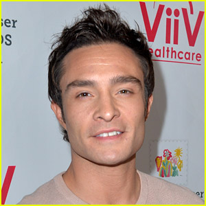 Ed Westwick's Big Surprise for Fans Is 'XOXO' Face Masks in His Chuck Bass Store