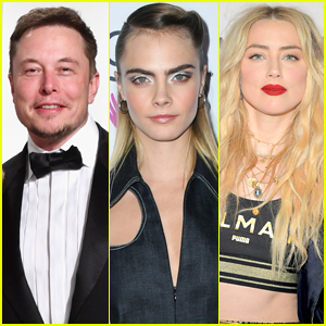 Elon Musk Responds to Claims He Had 'Three Way Affair' with Amber Heard & Cara Delevingne