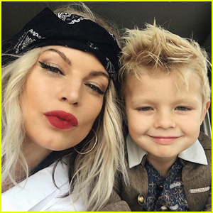Fergie Brings Son Axl to Protest Supporting Black Lives Matter Movement