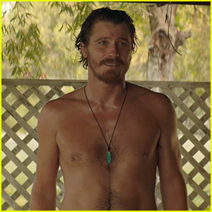 Garrett Hedlund Goes Shirtless Throughout the New 'Dirt Music' Trailer - Watch Now!