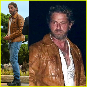 Gerard Butler Gets Dinner at Sushi Spot Nobu Malibu
