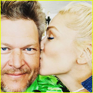 Gwen Stefani Wishes Blake Shelton a Happy Birthday With a Cute Kiss Selfie