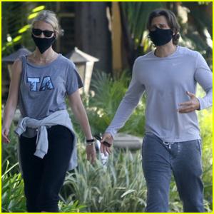 Gwyneth Paltrow & Brad Falchuk Enjoy Afternoon of Exercise in L.A.