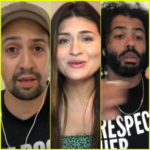 Original 'Hamilton' Cast Reunites Perform 'Helpless' During Global Goal: Unite for Our Future Concert Special - Watch!