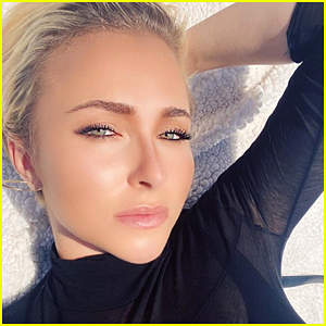 Hayden Panettiere Shows Off Eye of Ra Neck Tattoo on Instagram