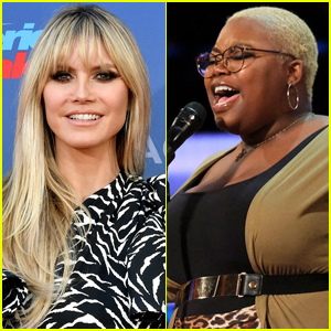 Heidi Klum Brings Singer to Tears with Golden Buzzer on 'America's Got Talent' - Watch Now!