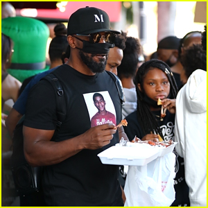 Jamie Foxx Says Having His Kids With Him at a Protest Was 'Bittersweet' & 'Heartbreaking'