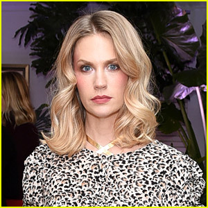 January Jones Shares Rare Photo of Son Xander Participating in Neighborhood Protest