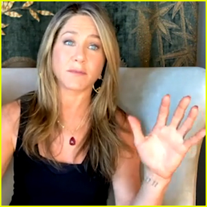 Jennifer Aniston Gives Fans Rare Glimpse at Her Wrist Tattoo
