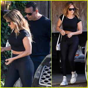 Jennifer Lopez & Alex Rodriguez Go House Hunting in Malibu!