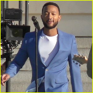 John Legend Gets Back to Work Filming a New Music Video